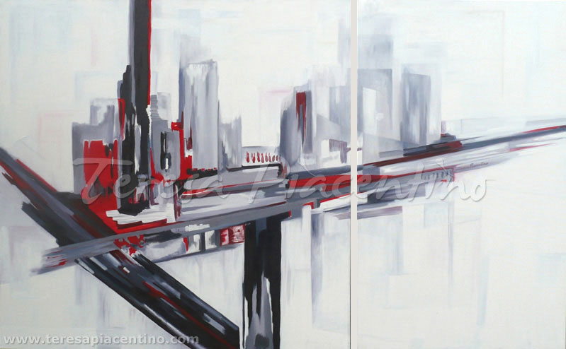 Cuadros Abstractos al Oleo