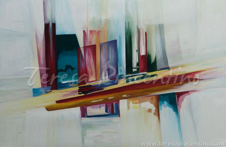 Venta de cuadros modernos 39 serie urbano no 8 39 por - Cuadros espectaculares modernos ...