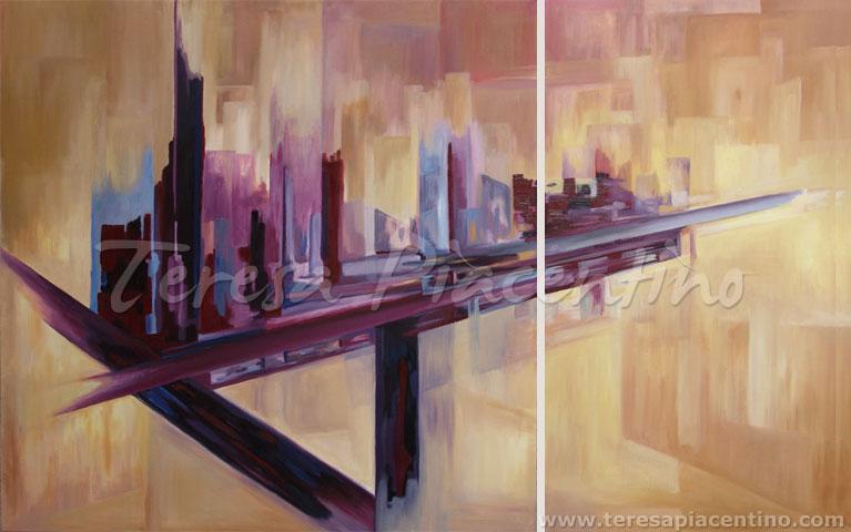 cuadros modernos al oleo