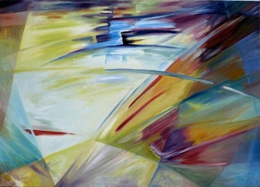 Cuadros abstractos al oleo cuadros de arte decorativos for Comprar cuadros al oleo