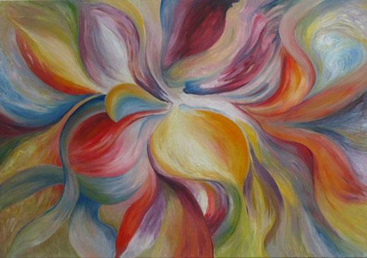 Cuadros de colores cuadros modernos originales pintados al oleo - Cuadros de colores ...