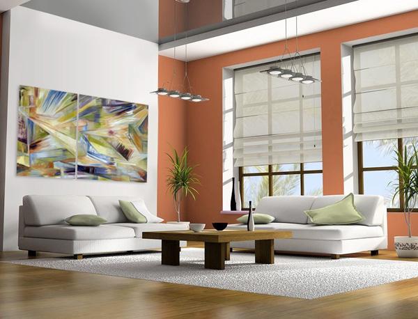 Pinturas cuadros modernos originales pintados al oleo for Cuadros para decorar dormitorios