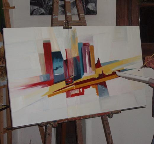 Mi galeria de cuadros al oleo for Fotos de cuadros abstractos al oleo